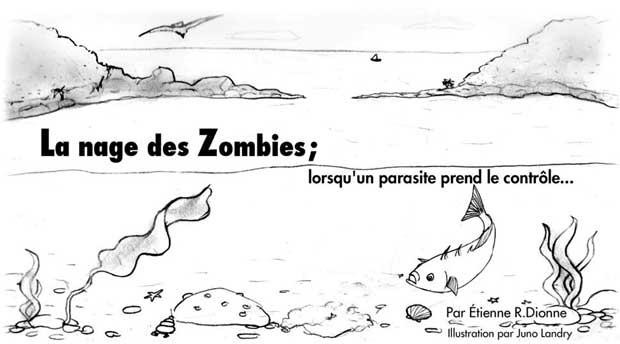 Dessin poisson zombie